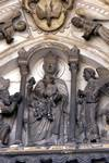 Laon; Adoration of Magi; typanum of the north portal, west facade.