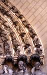 Laon; Last Judgment; right archivolts of the right portal, west facade (Last Judgment Portal).
