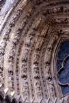 Reims; Last Judgment; left side of the archivolts of the south portal, west facade.