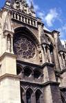 Reims; Church, Synagogue, Assumption of the Virgin, Coronation of the Virgin, Jesus Christ; south transept.