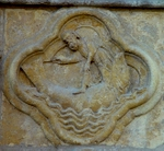 Jonah Being Cast out of the Belly of the Fish.