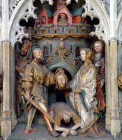 Martyrdom and Death of John the Baptist.