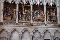 Jesus in the Temple and other Temple activities.