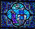 Annunciation of Christ's Birth to the Shepherds by Angels.