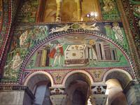 St. Vitale - Abel and Melchizedek Sacrificing.