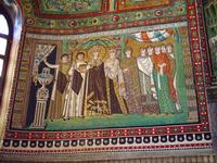 St. Vitale - Empress Theodora Offering the Cup of the Eucharist.