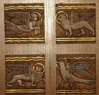 Four Symbols of Evangelists.
