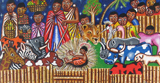 Nativity.  Unidentified Kenyan artist  Click to enter image viewer  Use the Save buttons below to save any of the available image sizes to your computer.
