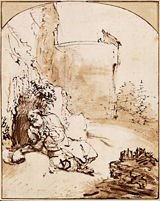 Prophet Jonah Before the Walls of Nineveh.