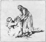 Christ Healing Peter's Mother-in-Law.