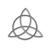 Celtic Trinity Knot Symbol.