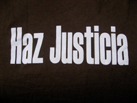 Haz Justicia.   Click to enter image viewer  Use the Save buttons below to save any of the available image sizes to your computer.