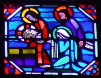 Mourning of Jesus.