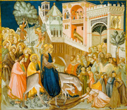 Entry into Jerusalem.