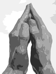 Praying Hands.   Click to enter image viewer  Use the Save buttons below to save any of the available image sizes to your computer.