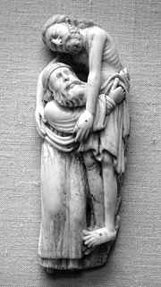 Joseph of Arimathea Lowers Christ from the Cross.