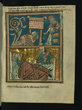 Hannah Prays in the Temple and Hannah gives birth to Samuel.