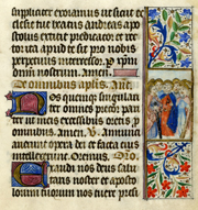 Nehemiah in the Liturgy from a book of hours.   Click to enter image viewer  Use the Save buttons below to save any of the available image sizes to your computer.