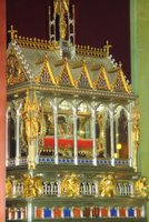 Budapest: St. Stephen's Basilica, reliquary, St. Stephen's hand.