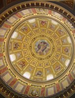 Budapest: St. Stephen's Basilica, dome.