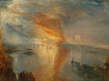 The Burning of the Houses of Parliament.  Turner, J. M. W. (Joseph Mallord William), 1775-1851  Click to enter image viewer  Use the Save buttons below to save any of the available image sizes to your computer.