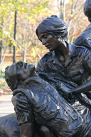 Vietnam Women's Memorial.  Goodacre, G. (Glenna)  Click to enter image viewer  Use the Save buttons below to save any of the available image sizes to your computer.