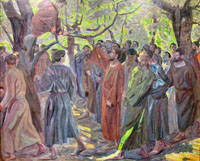 Zacchaeus.  Stevns, Niels Larsen, 1864-1942  Click to enter image viewer  Use the Save buttons below to save any of the available image sizes to your computer.