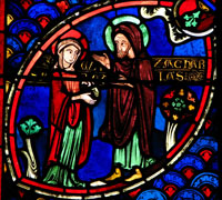 Elizabeth and Zechariah.