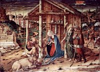 Adoration of the Christ Child by the Shepherds.