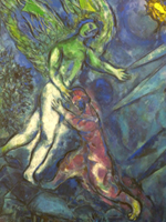 Jacob Wrestling with the Angel.