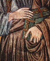 Hands of John, the Evangelist.