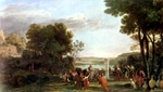 Landscape with Adoration of the Golden Calf.