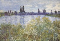 Banks of the Seine, Vétheuil, 1880.