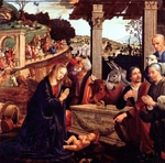 Adoration of the Child by the Shepherds.