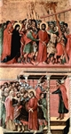 Road to Calvalry (top); Pilate Washes His Hands (bottom).