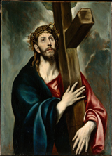 Christ Carrying Cross.