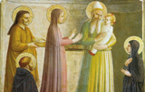 Presentation in the Temple, detail.