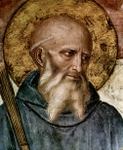 Detail of St. Benedict.