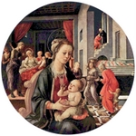 Madonna with Child.