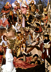 Tree of Jesse.  Geertgen, tot Sint Jans, approximately 1460-1495, attributed  Click to enter image viewer  Use the Save buttons below to save any of the available image sizes to your computer.