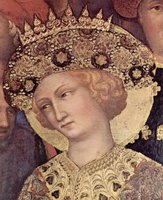 Adoration of the Three Kings, detail of Magi.