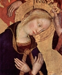 Mary, detail.