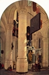 Interior of Church in Delft.