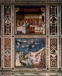 Wedding at Cana (top) and Lamentation (bottom).