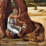 Hieronymus in the Desert.