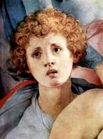 Descent from the Cross, detail.