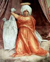 Decoration of Chapel of Leo X - Detail of Veronica.
