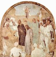 Christ before Pilate.