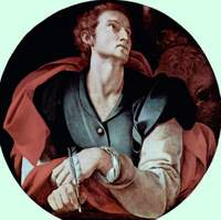 Luke the Evangelist.