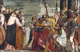 Jesus Heals the Centurion's Servant.